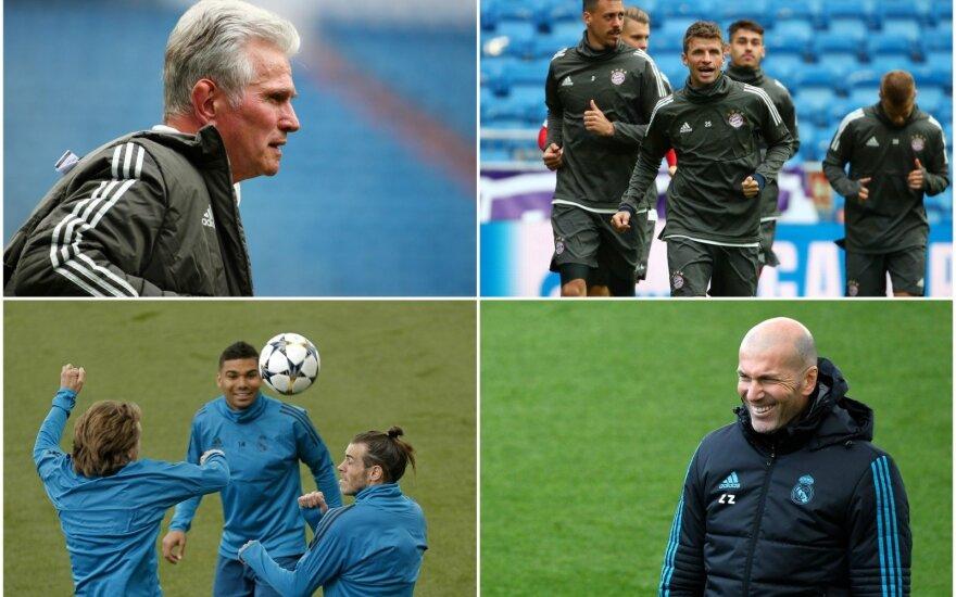 """Miuncheno """"Bayern"""" - Madrido """"Real"""""""