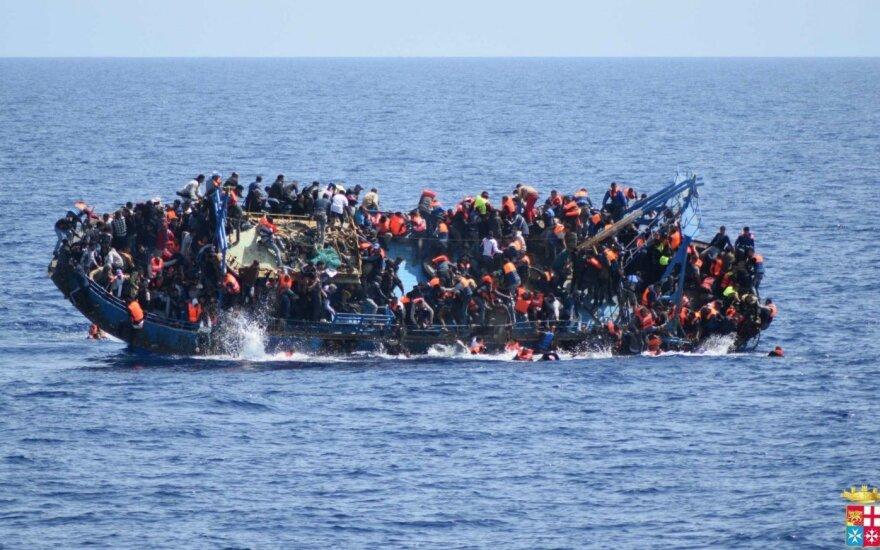 Libijoje per sunkvežimio avariją žuvo mažiausiai 19 migrantų
