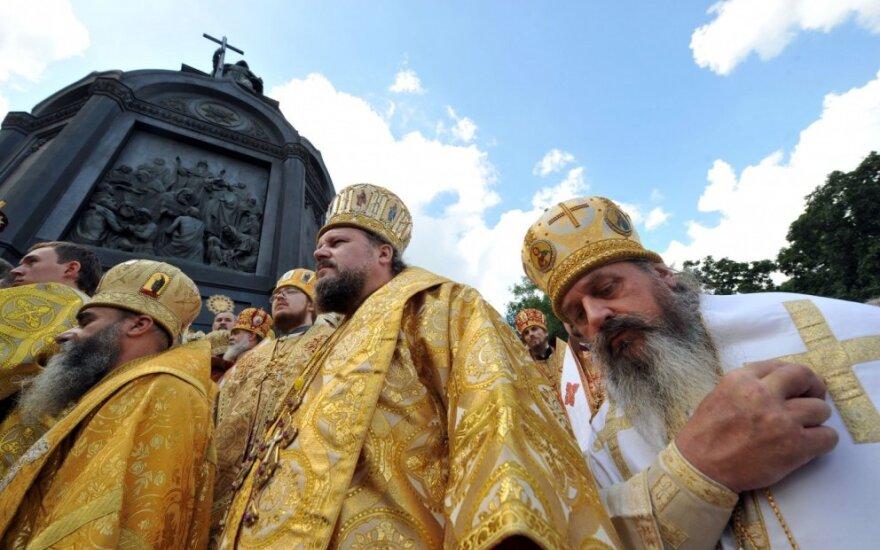 Nepaisydamos Rusijos pykčio JAV pasveikino nepriklausomos Ukrainos bažnyčios įkūrimą