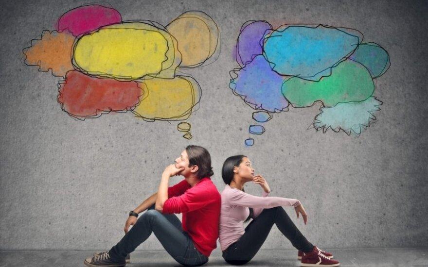 Psichologė: norėdami tapti laimingesniais, turime prižiūrėti savo mintis - vienintelį mūsų valdomą dalyką