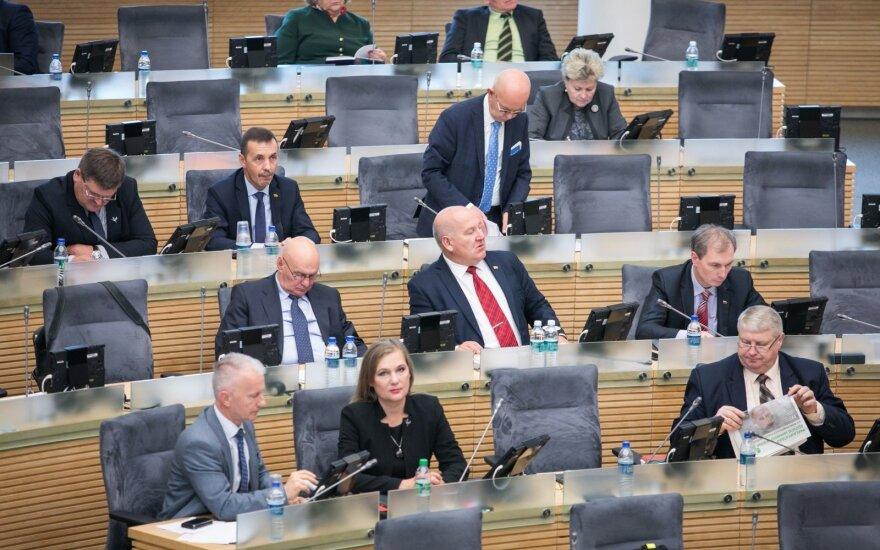 Atliekų tvarkymo įstatymo pataisos toliau bus svarstomos Seime