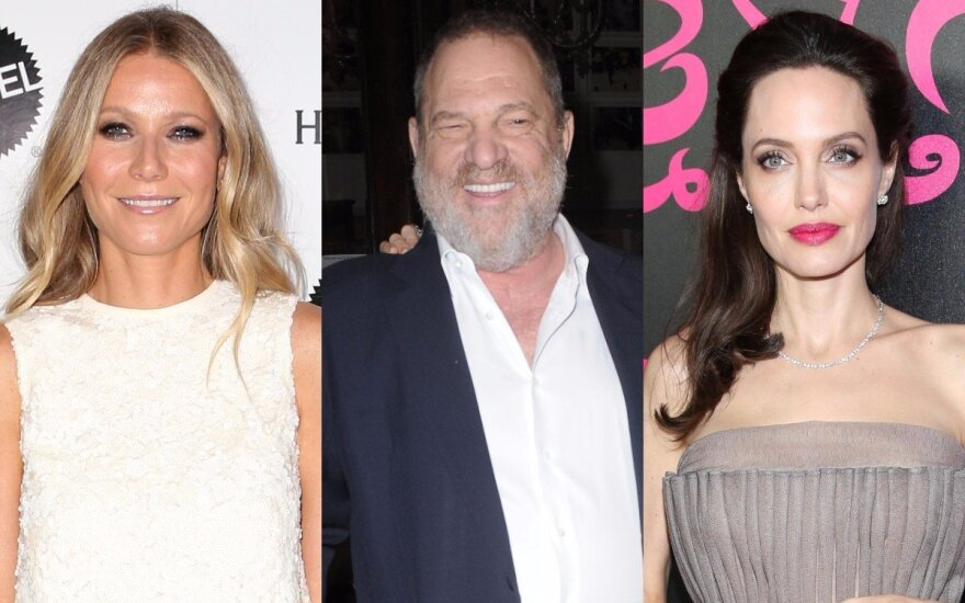 Gwyneth Paltrow, Harvey Weinstein, Angelina Jolie