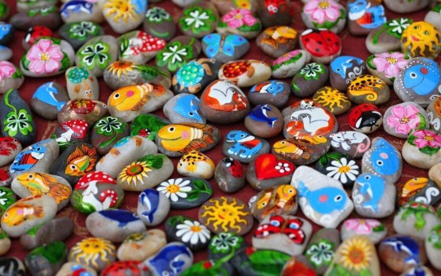 Tapyba ant akmenukų: ypatingų gabumų nereikia