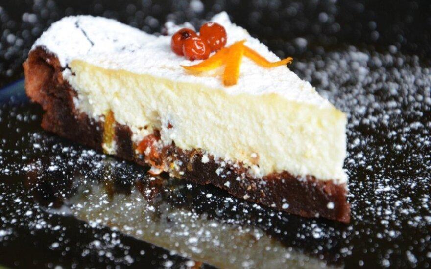 Liežuvį galima praryti: Nutella ir varškės pyragas