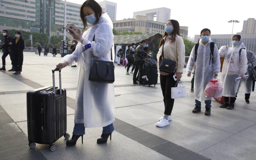 Žiniasklaida: JAV žvalgyba COVID-19 protrūkį Kinijoje pradėjo stebėti dar lapkritį