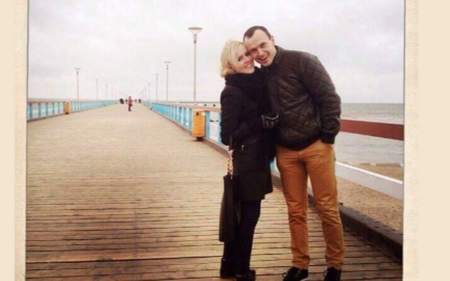 Donata Gutauskienė-Laisva su vyru