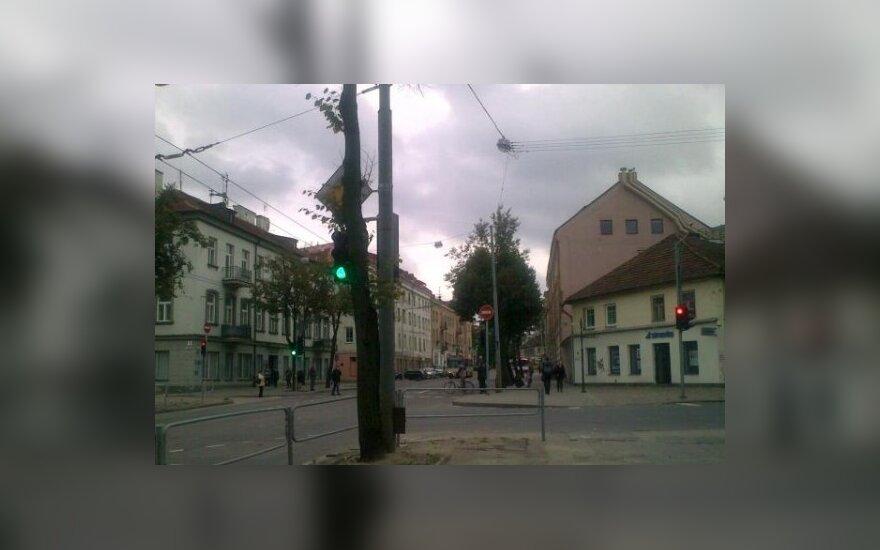 Naugarduko - Pylimo gatvių sankryža, D. Santockio nuotr.