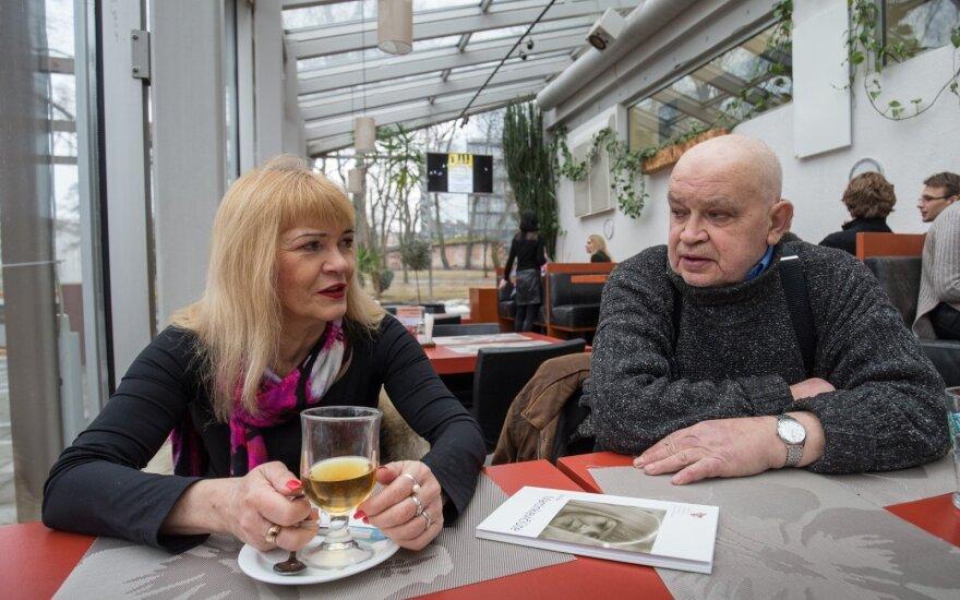 Tautvyda Marcinkevičiūtė ir Gintaras Patackas