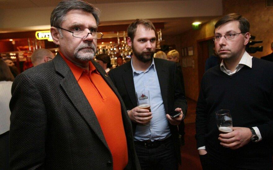 Vidmantas Martikonis, Vincas Jurgutis, Gintaras Steponavičius