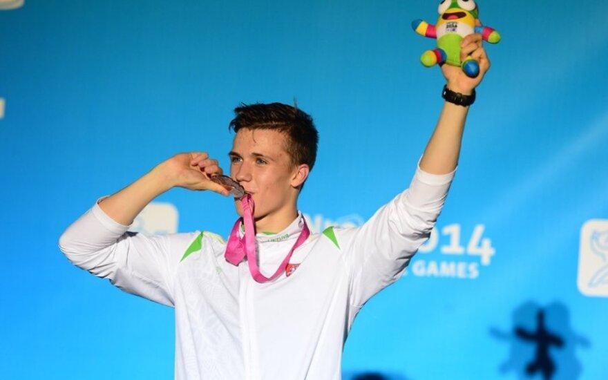 Jaunimo olimpinių žaidynių šiuolaikinės penkiakovės bronza atiteko D. Vaivadai
