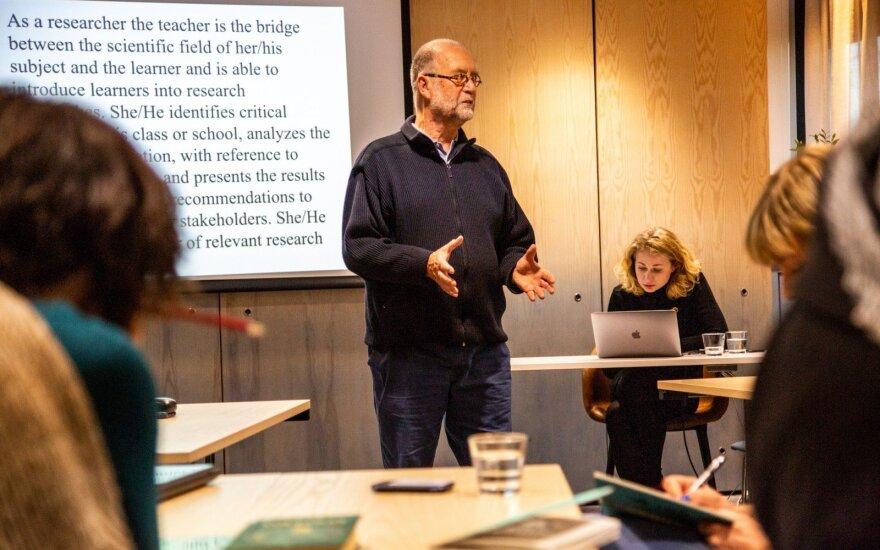 """""""Mokytojai Lietuvai"""", trečia diena"""