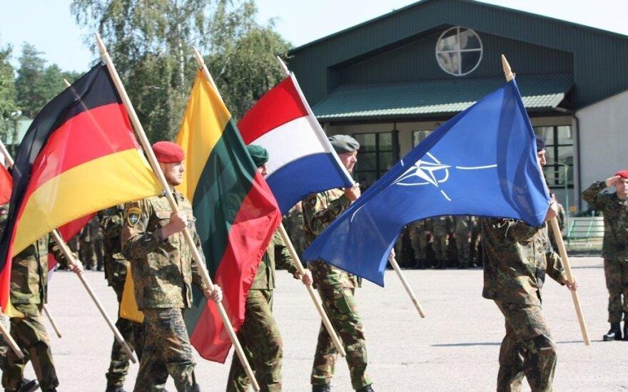 NATO priešakinių pajėgų kovos grupei vadovaus pulkininkas  leitenantas Rene Braun