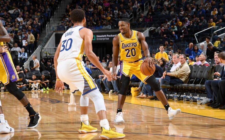 """Skambus """"Ryto"""" pirkinys: į Vilnių atvyksta dar pernai sutartį su """"Lakers"""" pasirašęs įžaidėjas"""