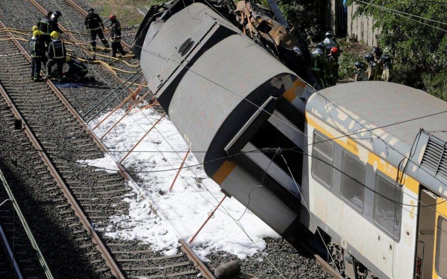 Traukinio avarija Ispanijoje
