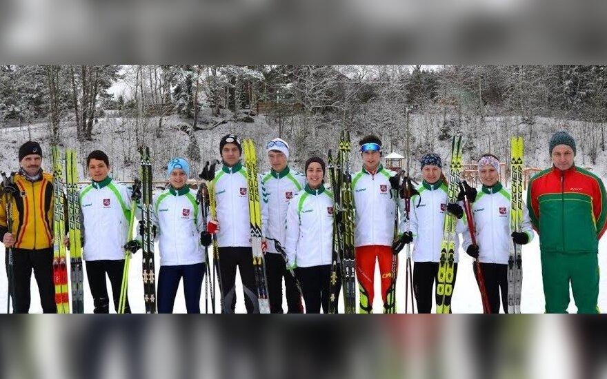 Pasaulio jaunimo orientavimosi sporto slidėmis čempionate lietuviai užėmė penktą vietą