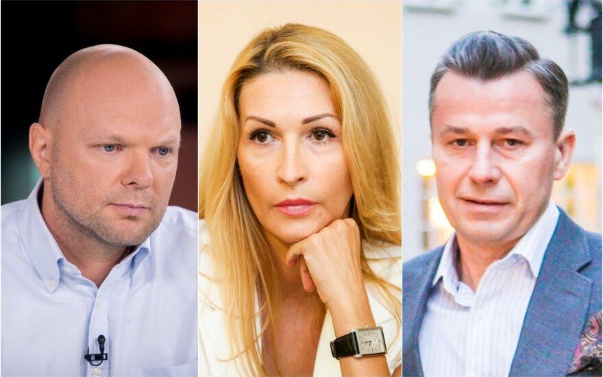 K.Krivickas, D.Bosas, S.Martinavičius