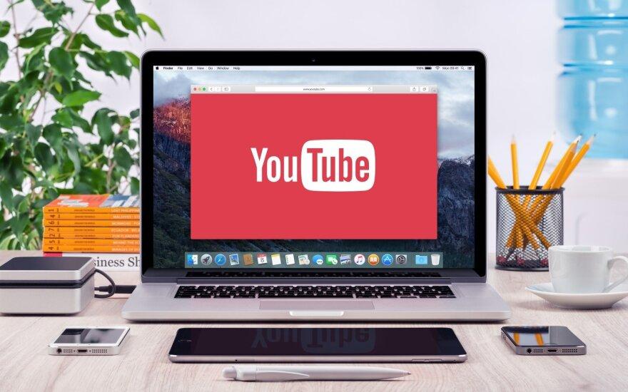 """""""Youtube"""" investuos 25 mln. JAV dolerių į """"patikimus naujienų šaltinius"""""""