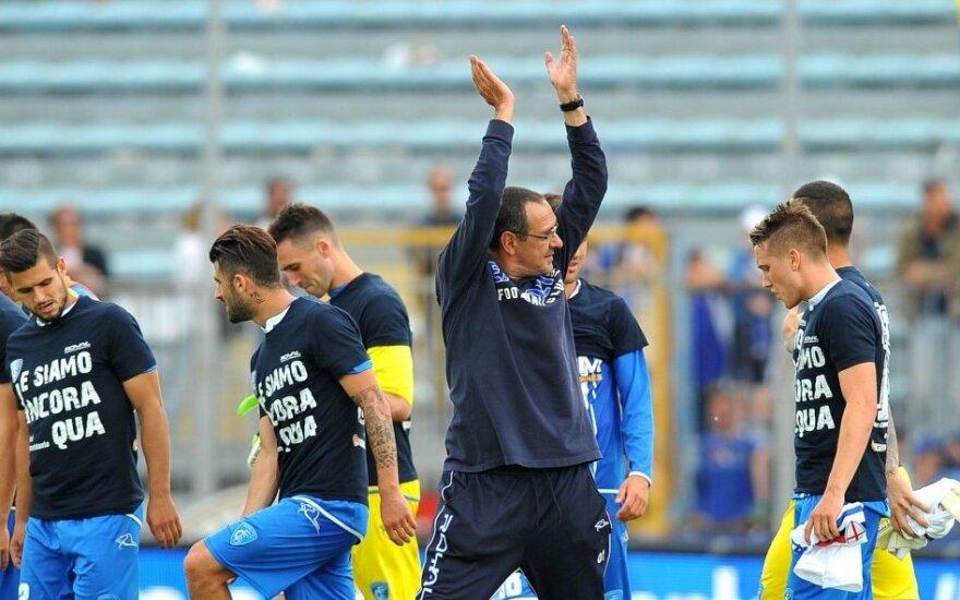 """""""Napoli"""" rado įpėdinį į Madridą išvykusiam R. Benitezui"""
