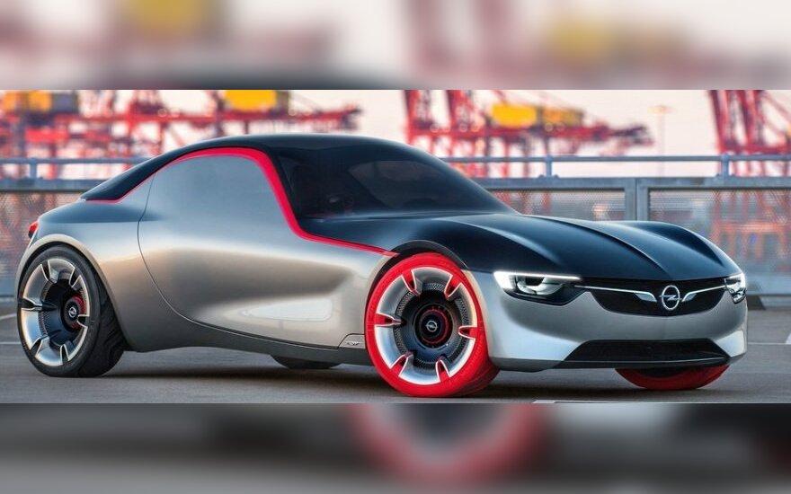 """Koncepcinis """"Opel GT"""""""