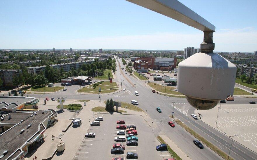 Stebėjimo kamera Nemuno - Parko g. sankryžoje