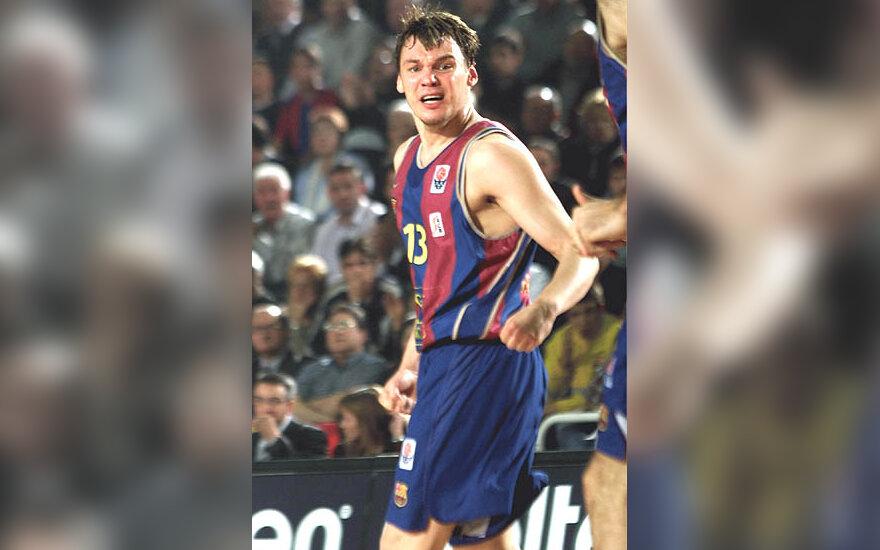 """Šarūnas Jasikevičius, """"Barcelona"""""""