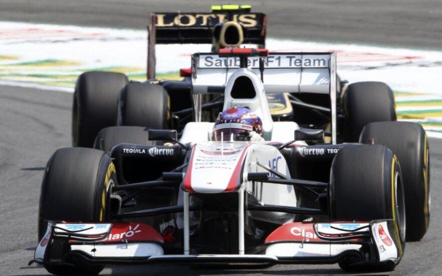 """Sauber"" komandos F-1 automobilis"