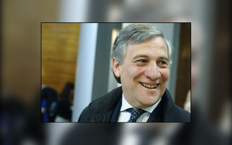 Antonio Tajani, EK komisaras, EP nuotr.