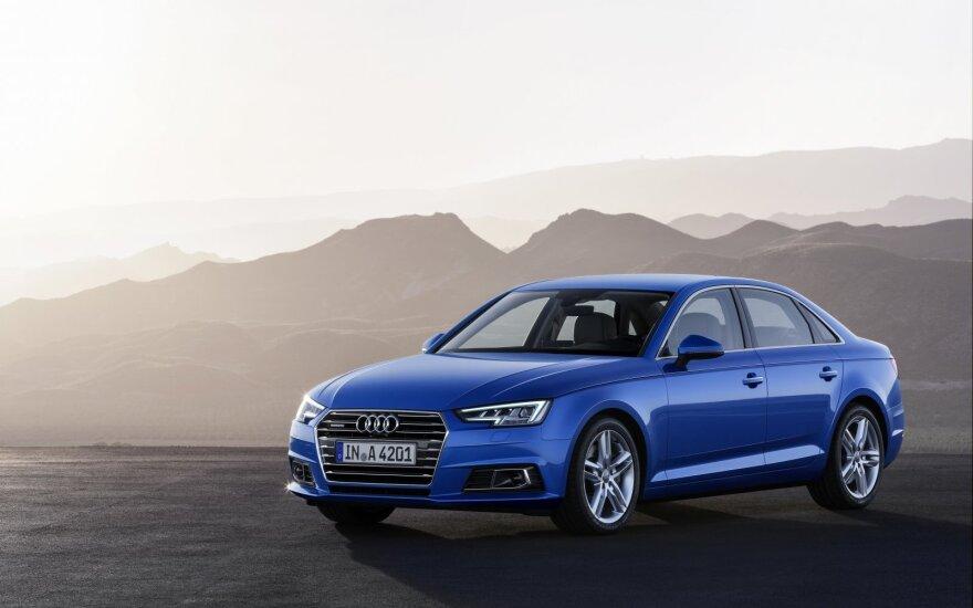 """""""Audi"""" susišlavė prestižinio apdovanojimo prizus"""