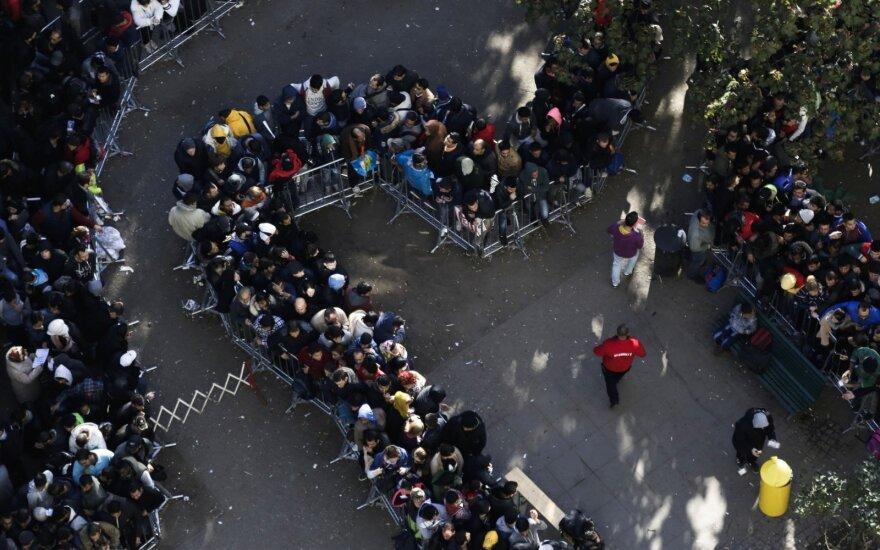 JT suskaičiavo, kiek migrantų pasieks Europą