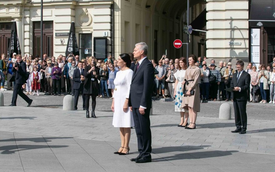 New president Nauseda inaugurated in Vilnius