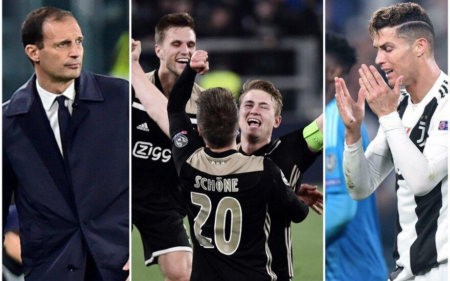 """Massimiliano Allegri, """"Ajax"""", Cristiano Ronaldo"""