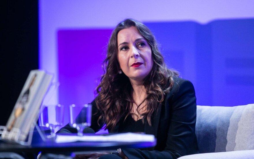 Skaitytojai kviečiami į susitikimus su Kristina Sabaliauskaite