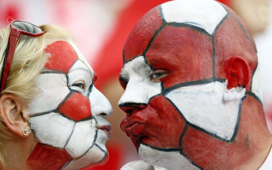 Europos futbolo čempionatą transliuojanti LRT tapo žiūrimiausia Lietuvoje