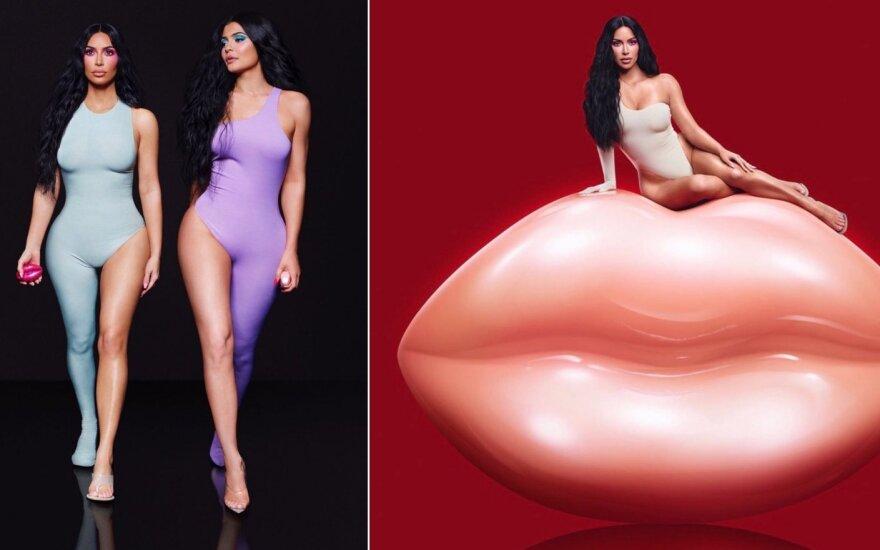 Kim Kardashian kvepalų reklama