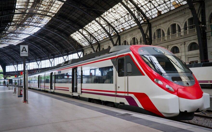 Kelionė traukiniu po Europą