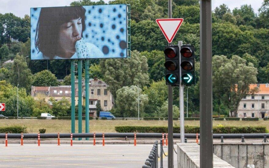 Judrioje Kauno sankryžoje panaikintos žaliosios rodyklės
