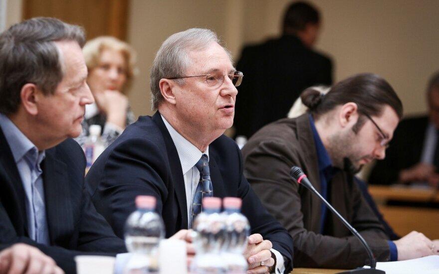 Atsistatydinusiam Vaitekūnui grėsė atleidimas iš LRTK dėl šiurkštaus pažeidimo