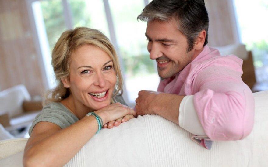 Kas atsitinka su kartu ilgai gyvenančiomis poromis