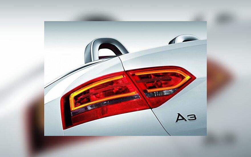 """""""Audi A3"""" siūlomas su nauju varikliu"""