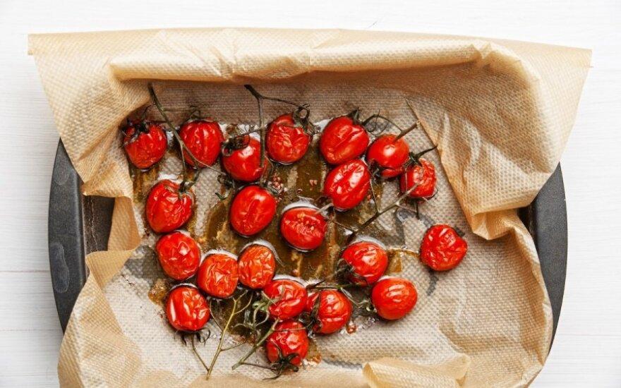 Saldūs pomidorai aliejuje