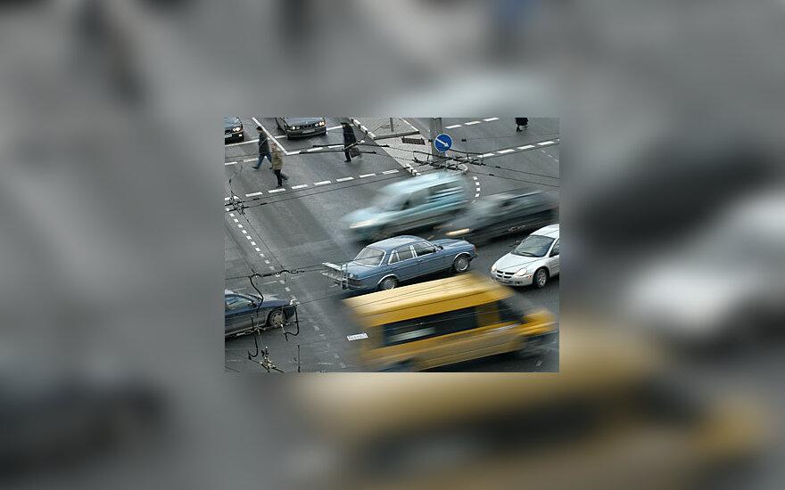 Automobiliai sankryžoje