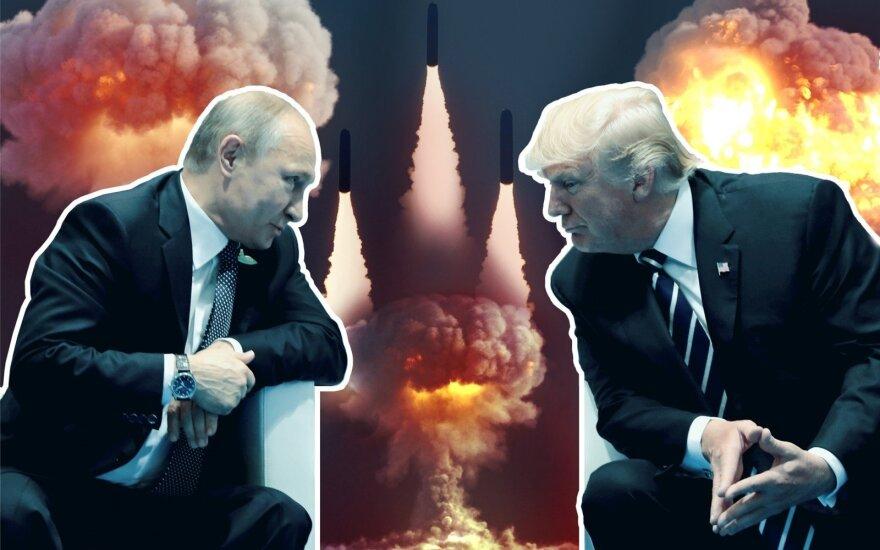Raketų karštinė susuko galvas: kelio atgal nemato nei JAV, nei Rusija