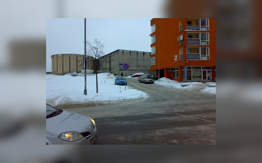 Vilniuje, Fabijoniškių g. 2. 2010-02-17 17.09 val.
