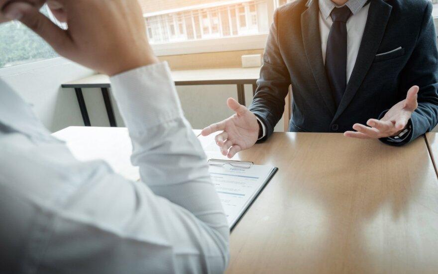 Darbo pokalbis eina į pabaigą: trys klausimai, kuriuos privalote užduoti