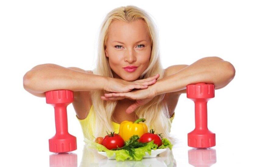 Kaip maitintis intensyviai sportuojant?