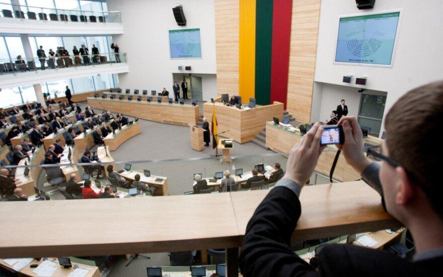 Referendumui dėl AE trūksta dar vieno Seimo pritarimo