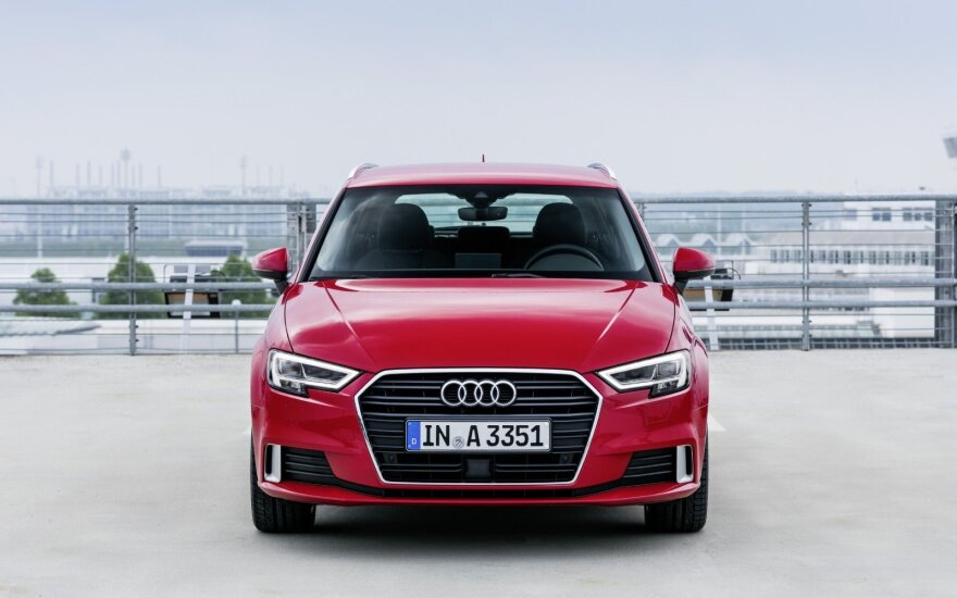 """Audi A3 Sportback"" (asociatyvi nuotr.)"