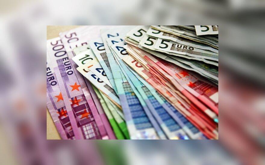 Vokietė nunešė gatvėje rastus 41 tūkst. eurų į policiją