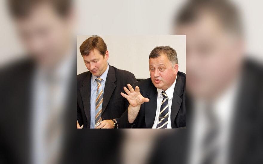 Artūras Zuokas ir Arvydas Garbaravičius
