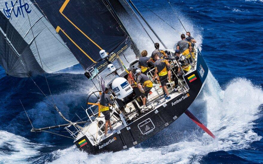 """""""Ambersail 2"""" jachta (Foto: Christophe Jouany)"""